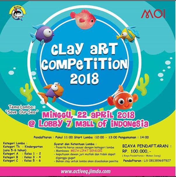 Comic Rider & Clay Art Competition 2018