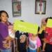 Pengurus mendampingi anak-anak ODHA di Rumah Singgah Aira.