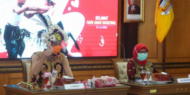 Peringatan Hari Anak Nasional Jateng 2020. Foto: Pemprov Jateng.